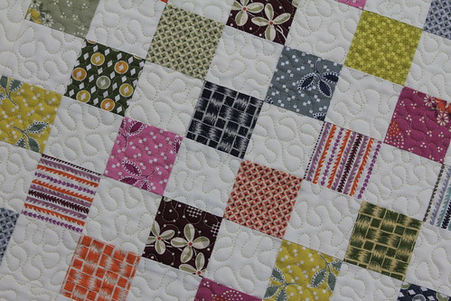Hope Valley Baby Quilt Close Up
