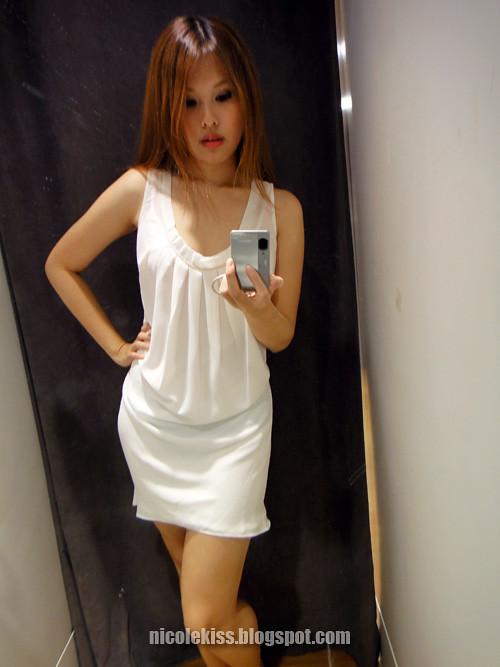 white dinner wear