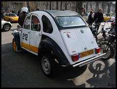 Citron 2CV (kity54) Tags: auto old white de automobile citroen lac voiture panasonic coche older 2cv blanche blanc dmc 2010 ancienne ancien  vhicule  madine   tz5 rtromeuse