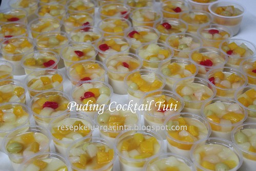 Puding Cocktail Tuti