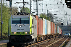 D Captrain 186-150 Oberhausen-Sterkrade 10-03-2011 (peters452002) Tags: railroad station train germany d eisenbahn rail railway zug bahnhof trains olympus cargo etrain locomotive bahn railways trein oberhausen railroads spoor spoorwegen lokomotive treinen twop ferrovia traxx privatbahn elok containertrain lokomotief olympuse510 clickcamera containertrein peters452002 oberhausensterkrade captrain captrain186150