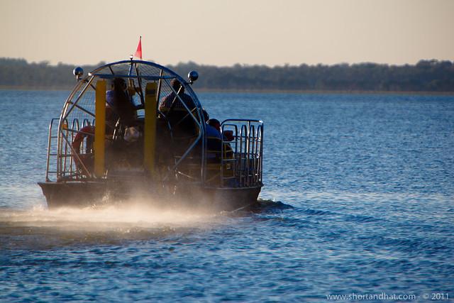 Airboat ride at Black Hammock