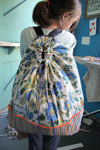 iviolet's ginormous hawaii backpack by luce goods