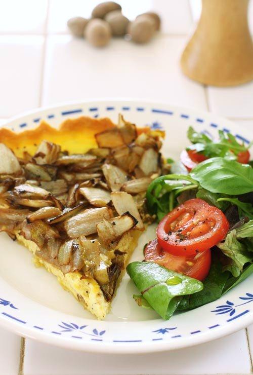 witlooftaart - brussels endive tart
