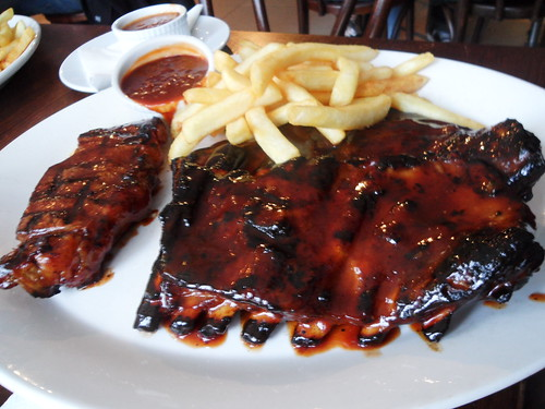 Hurricane's Steak and Ribs Combo