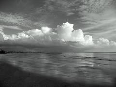 """It's Later Than You Think (EXPLORED) (It's a Keeper) Tags: light sunset sky bw seascape beach clouds coast boat blackwhite waves florida pov prayer depthoffield coastal shore april mm drama stpetebeach coastalliving itsakeeper itslaterthanyouthink myprayerforyou stevenbrisson debbiefrileyphotography monochromaticmonth andletusrunwithperseverancetheracethatissetbeforeushebrews121"""" isaiah4422ihavesweptawayyoursinslikethemorningmistsihavescatteredyouroffenseslikethecloudsohreturntomeforihavepaidthepricetosetyoufree """"thereforesincewearesurroundedbysogreatacloudofwitnessesletusalsolayasideeveryweightandsinwhichclingssoclosely"""