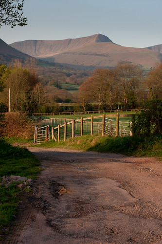 Road from the campsite