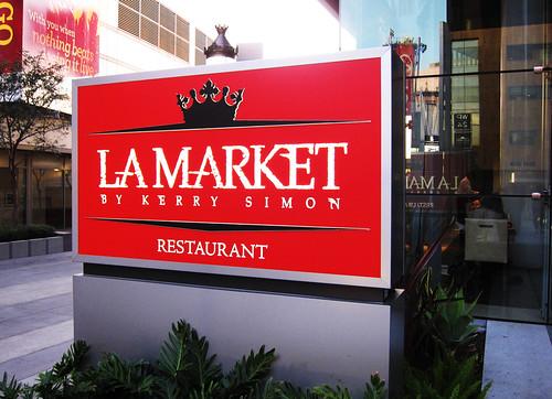 Media Dinner at LA Market