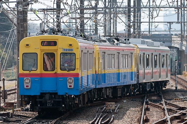 東急電鉄デヤ7200系