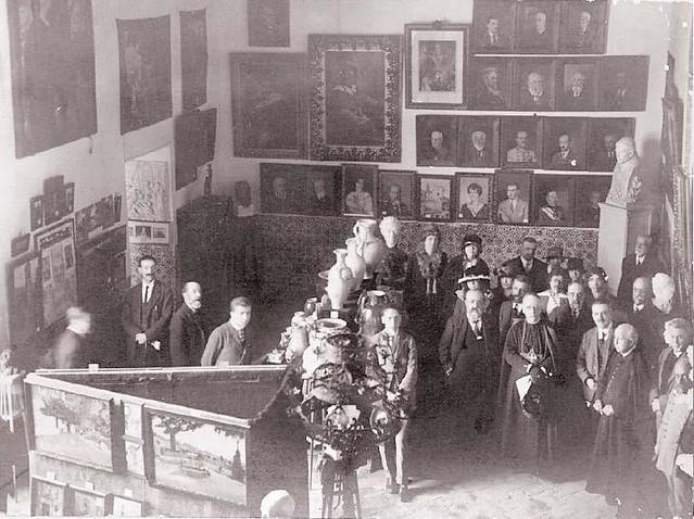 Exposición en el Salón de Mesa (5.IV.1920)