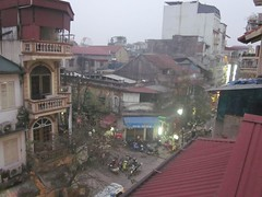 Hanoi from the Hanoi Guesthouse
