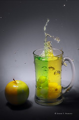 fresh (endardeep) Tags: stilllife color green apple yellow fruit drink fresh grape