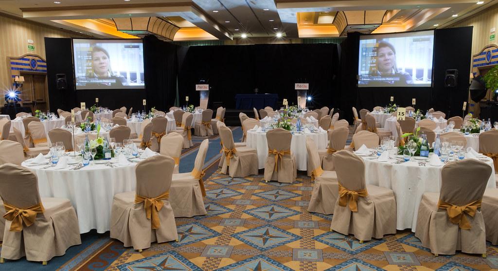 Evento/Events, table set up, dinner, decoration, meeting room, Sheraton La Caleta