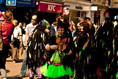 Folk Weekend Oxford. (taperoo2k) Tags: dancers folk festivals oxford citycentre borderlinemorris