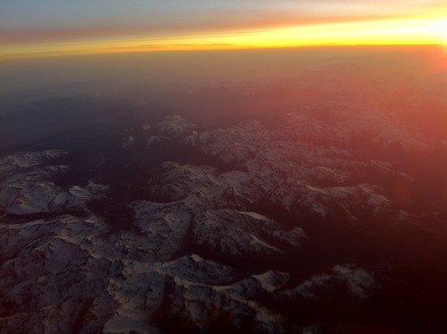 Pyrenees at Sunset