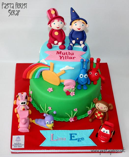 Baby tv cake - Lina&Ege