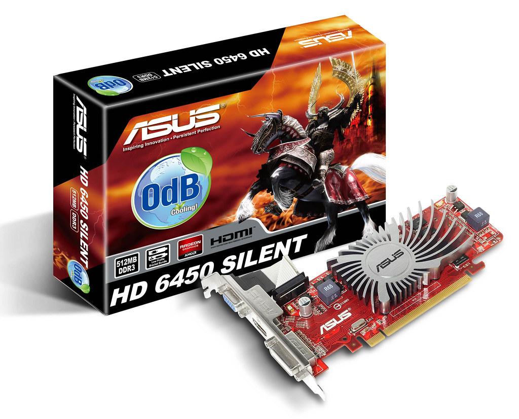 ASUS HD 6450 Silent