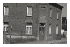 03330 (Myrkwood666) Tags: street bw house monochrome blackwhite belgium belgique belgie zwartwit strasse haus memory sw huis schwarzweiss flanders erinnerung belgien straat vlaanderen flandern herinnering seelenwinter mrkskygge myrkwood666