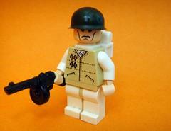 Help? (Jmes) Tags: winter uniform m1 pot help ww2 russian ppsh brickarms