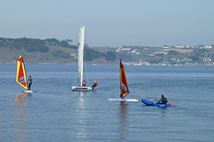 Watersports at Mylor by Tim Green aka atoach