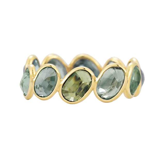Paolo Costagli Ombre Ring Green Sapphire