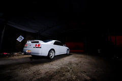Skyline (R.Norgren) Tags: white skyline nissan r33