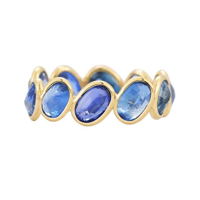 Paolo Costagli Ombre Ring Blue Sapphire