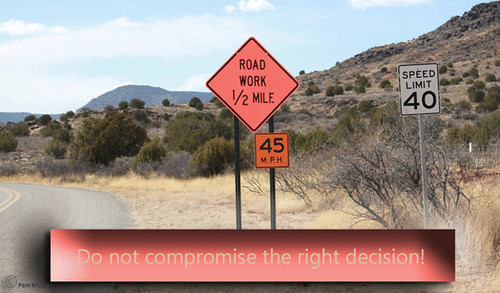 do-not-compromise-the-right-decision