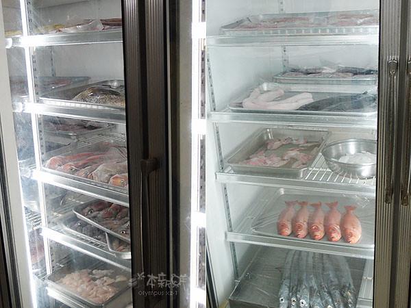 海鮮冷藏櫃