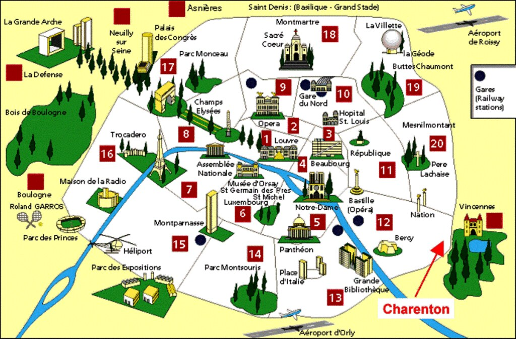 P00/Paris Monument Map by dany13, on Flickr