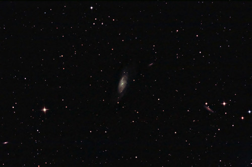 M106 - Spiral galaxy and friends