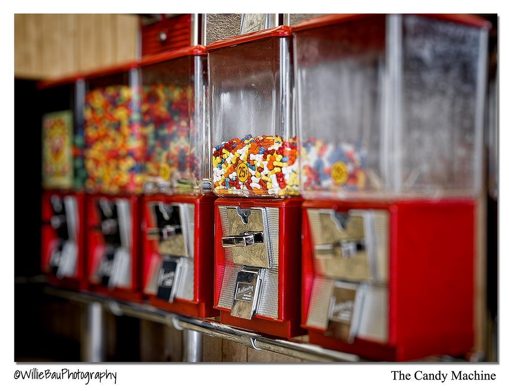 The Candy Machine.