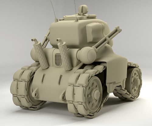Metal slug clay