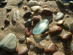 Every Day Is Earth Day..... (ARTISANNE) Tags: beach scotland sand rocks quote pebbles earthday artisanne scottishseaglass