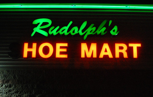 Rudolph's Hoe Mart by radargeek
