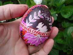 rabbit egg (jenny lee fowler) Tags: home easter egg craft pysanky