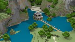 Glacier New House (macs4all) Tags: render blender mcobj