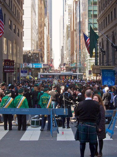 St. Patrick's Day Parade, from Vanderbilt Avenue