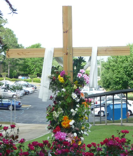 Flowering the Cross, Easter Sunday