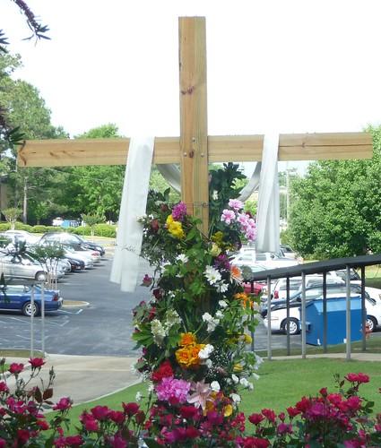 Flowering the Cross, Easter Sunday