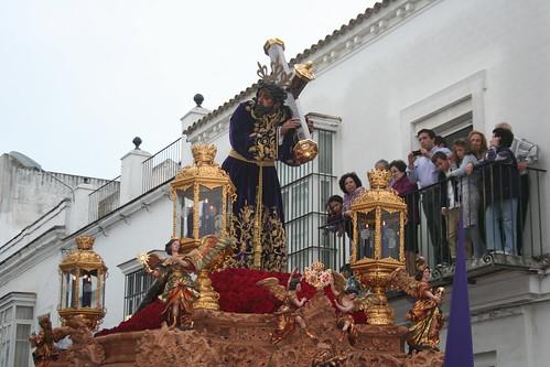 Nuestro Padre Jesús Nazareno. Procesión Magna del Santo Entierro. Sanlúcar de Barrameda, Sábado Santo 2011