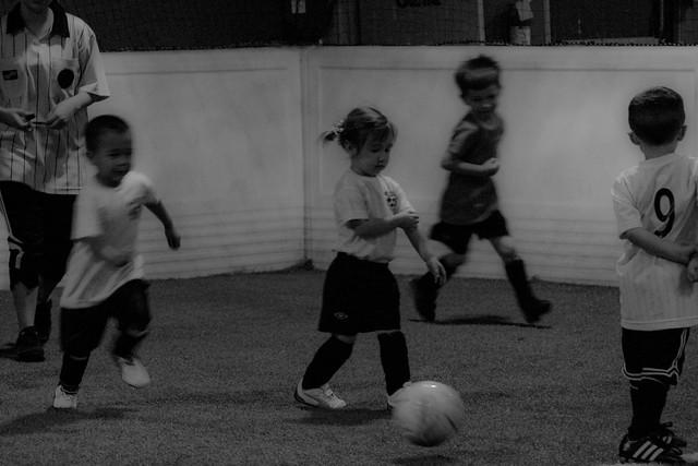 Soccer girl!