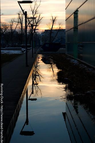 Sonnenuntergangsspiegeulg