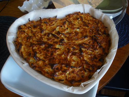Onion tart..