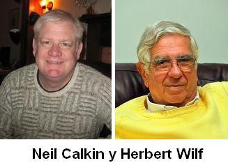 Neil Calkin y Herbert Wilf