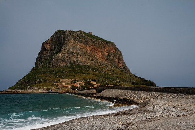 monemvasia - rock