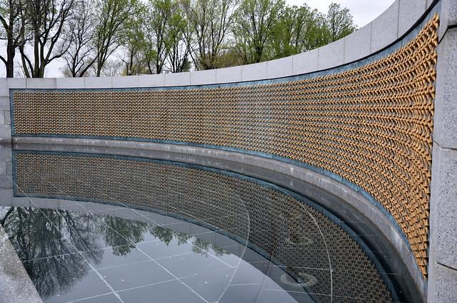 wwII memorial - stars