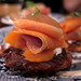 Latkes with gravlax