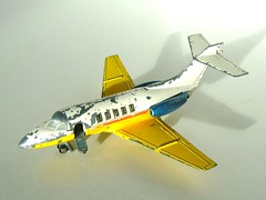 Dinky Toys Model No 723 - Hawker Siddeley HS-125 Executive Jet (Kelvin64) Tags: airplane toy toys model aircraft jets jet executive hawker hawkers dinky 723 siddeley hs125 siddeleys