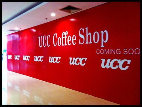 有沒有留意奧海城二期的UCC Coffee Shop 正在裝修中? 好期待呀。  雖然有時UCC 的分店未能保持水準,但還是期待它在自己的附近開一間!  最愛那裡的墨魚汁麵!(懷念)每次點這個是,海港城分店的店員會再三叮囑我:「食左個咀會黑㗎喎」   期待開業... by Aiki♥